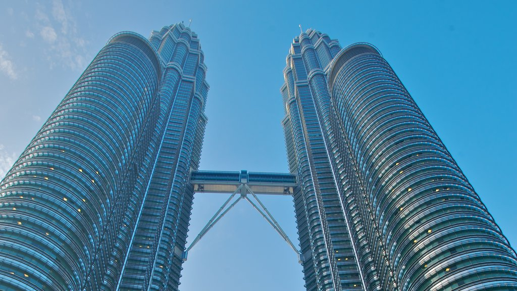 Kuala Lumpur which includes a city, a high rise building and modern architecture