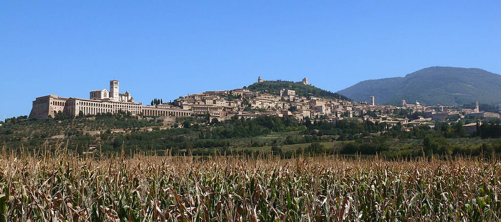 Assisi panorama - By zyance (Own work)  , via Wikimedia Commons