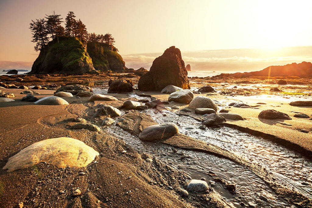 Una veduta dell' Olympic National Park. Photo credit Shutterstock