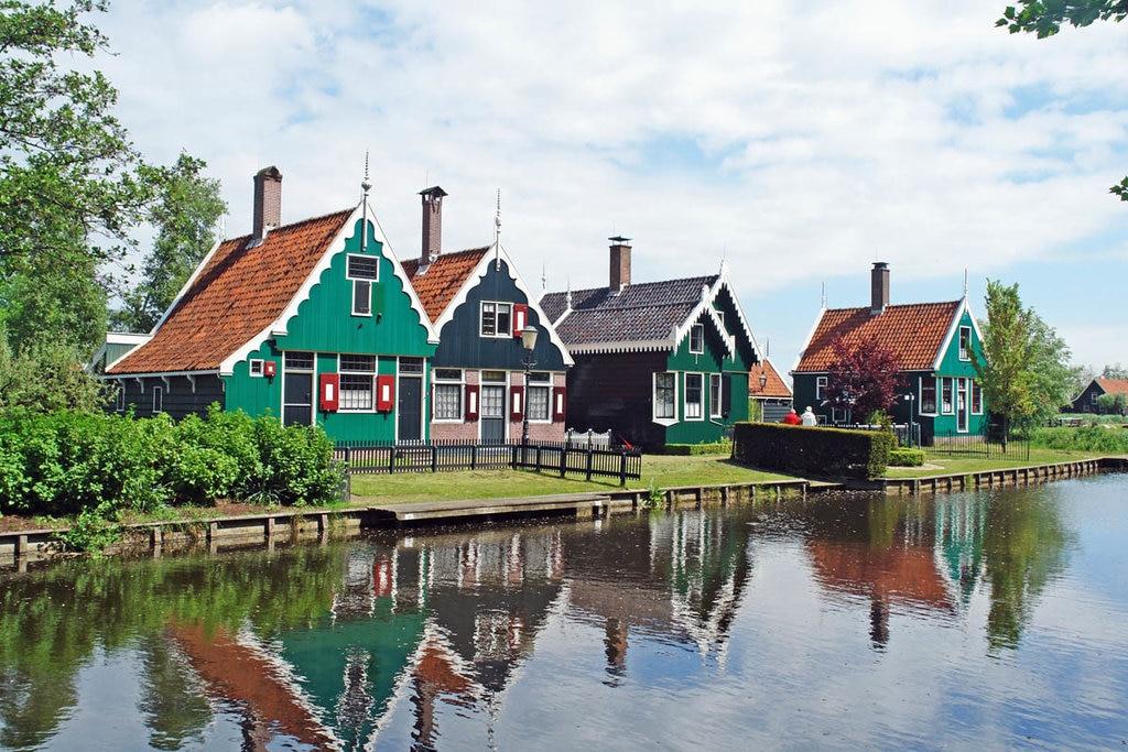 Edifici tipici a  Zaanse-Schans. Courtesy of dezaanseschans.nl