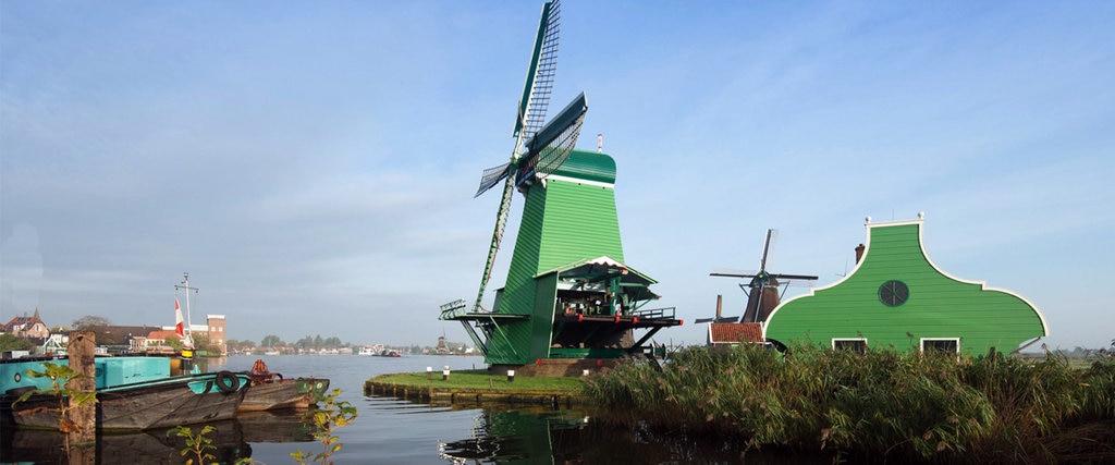 Mulini a vento a Zaanse-Schans. Courtesy of dezaanseschans.nl