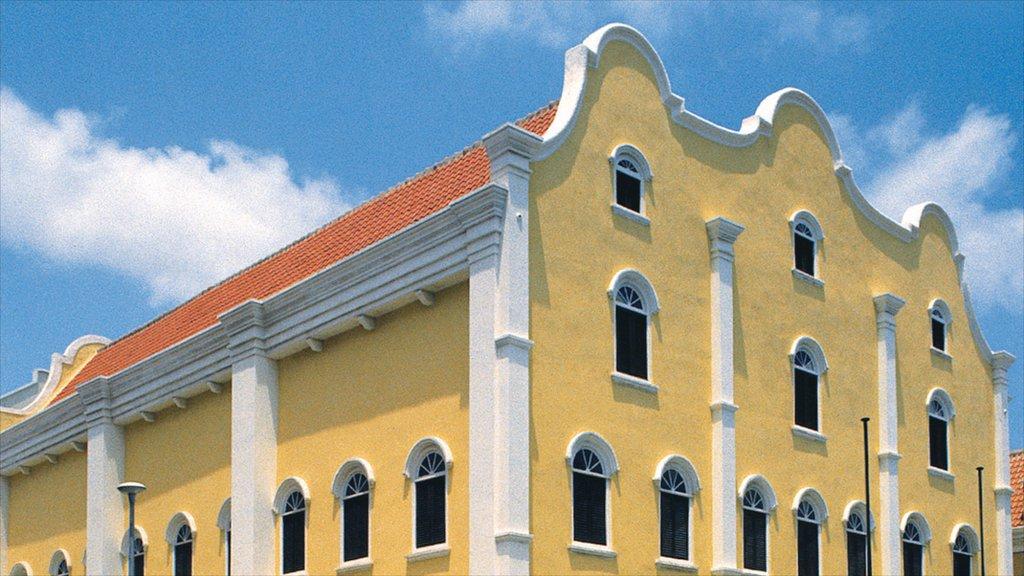 Willemstad que incluye patrimonio de arquitectura