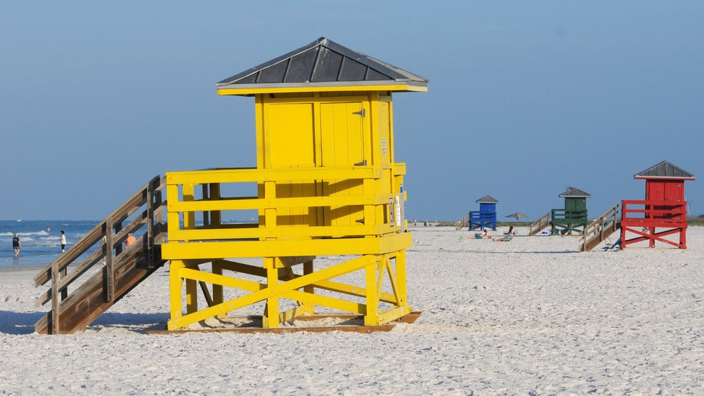 Siesta Key featuring a sandy beach