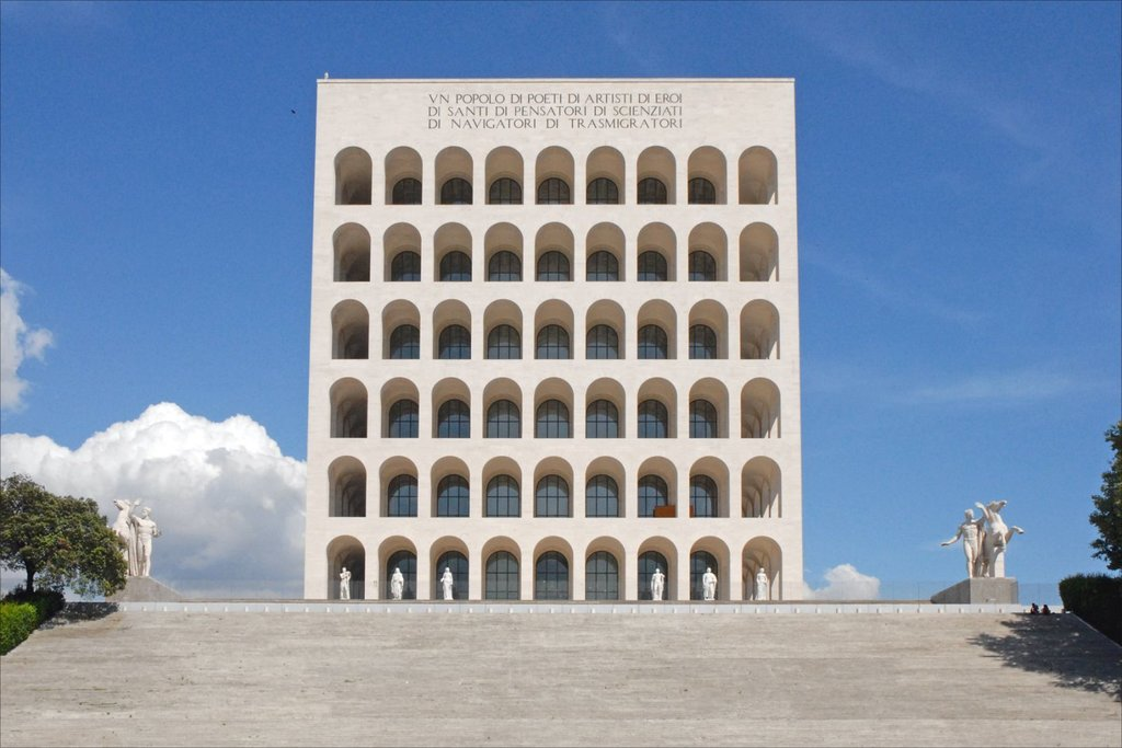 Il Palazzo della Civiltà Italiana By dalbera from Paris, France  , via Wikimedia Commons