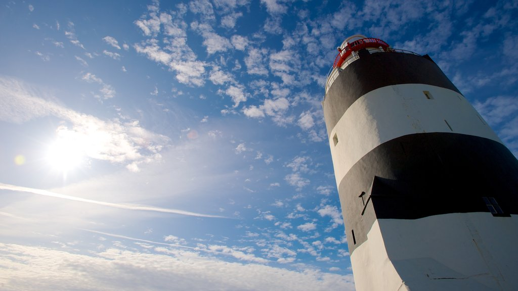 Ireland which includes a lighthouse and heritage architecture