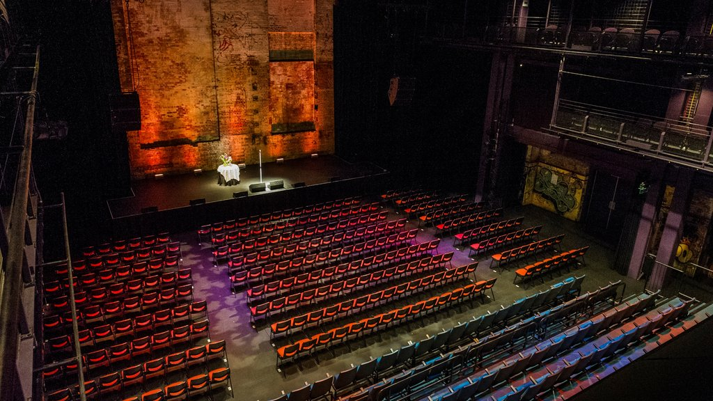 Brisbane Powerhouse featuring interior views and theater scenes
