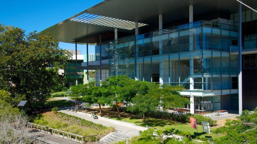 Galería de Arte Moderno ofreciendo una ciudad