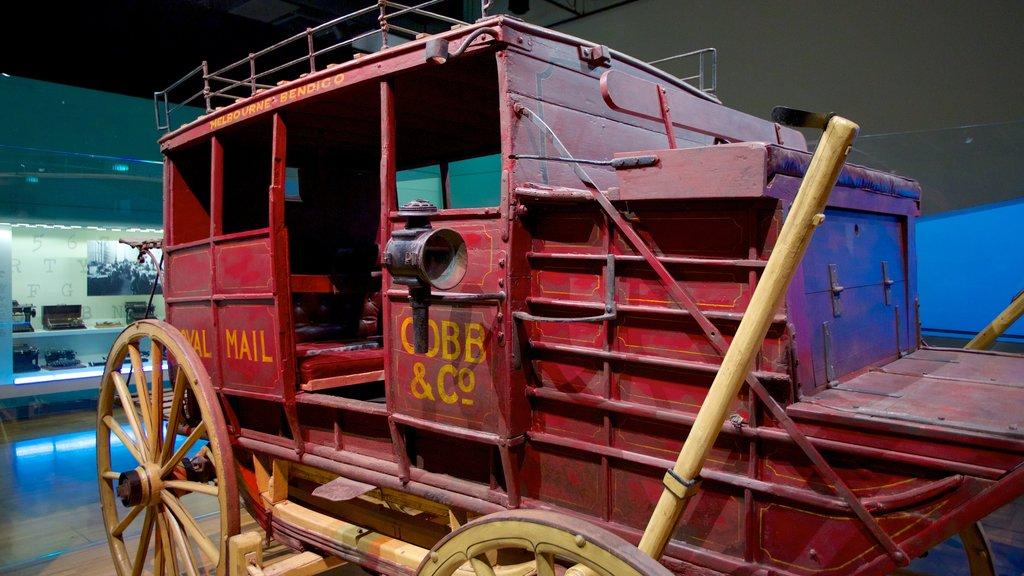Museo de Melbourne ofreciendo vistas interiores