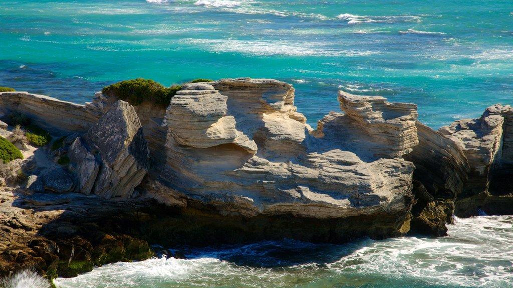 Rottnest Island featuring landscape views and rocky coastline