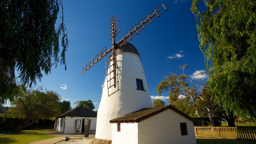 Old Mill featuring a monument and a windmill