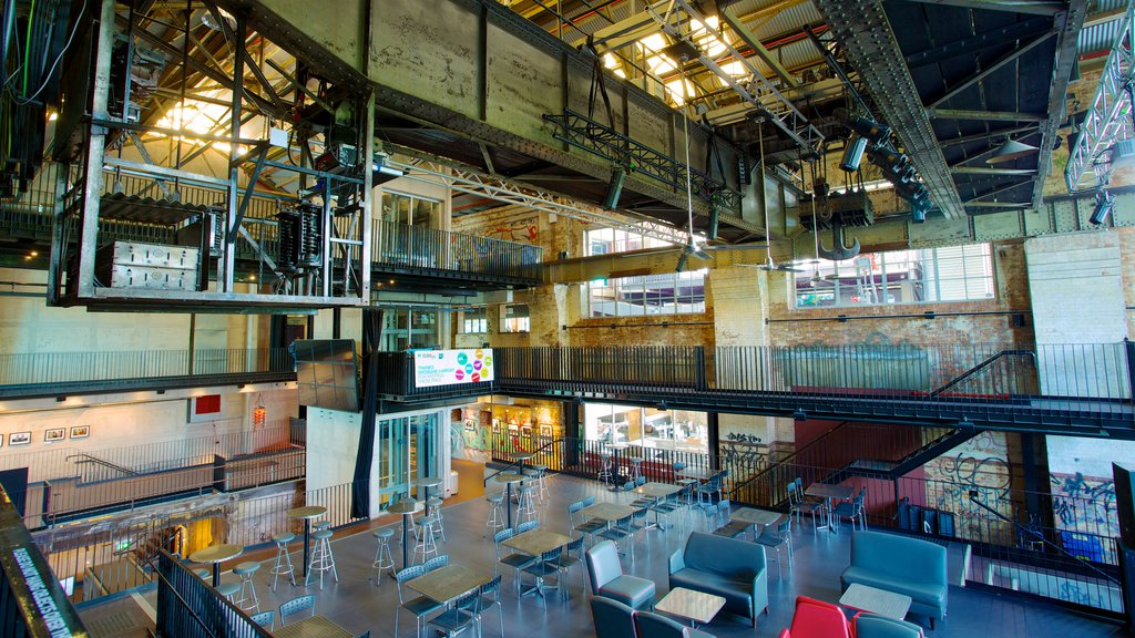 Brisbane Powerhouse featuring interior views