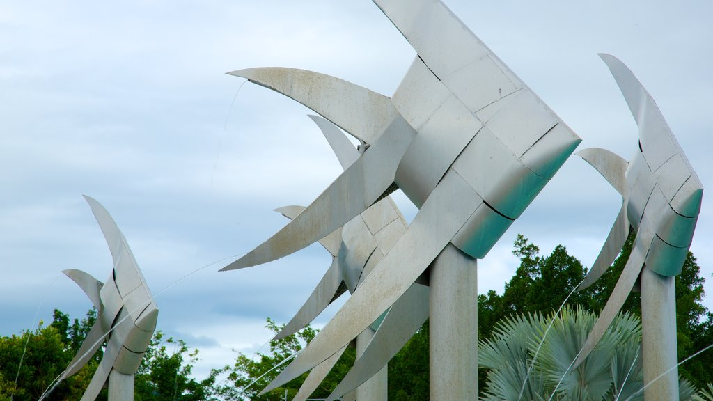Cairns and Northern Beaches which includes outdoor art