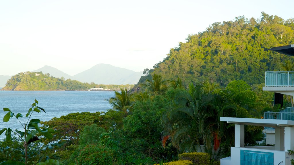 Trinity Beach featuring mountains, general coastal views and tropical scenes