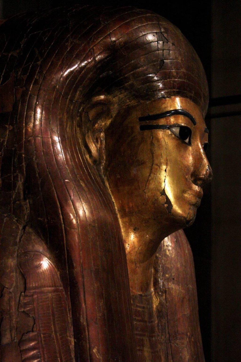 Il sarcofago interno di Kha, dettaglio - foto dell'autrice - https://www.flickr.com/photos/155545126@N07/36765958942/in/album-72157688373828955/