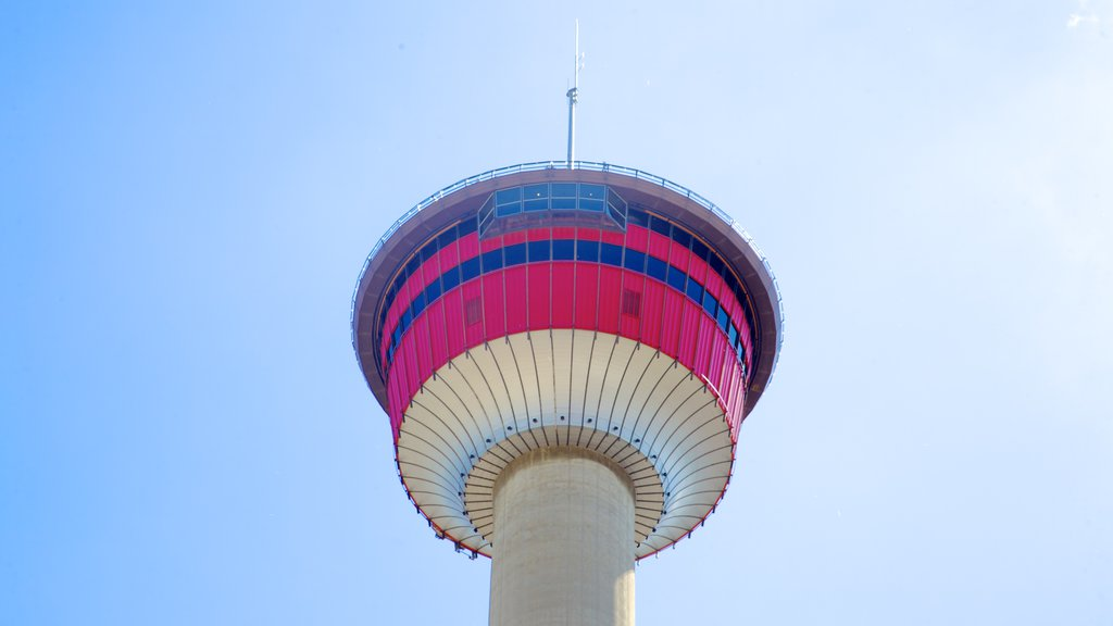 Calgary Tower showing modern architecture