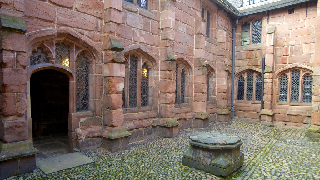 Chetham\'s Library which includes heritage architecture