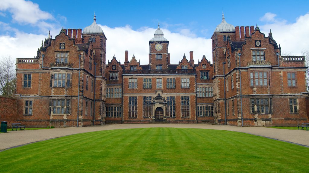 Aston Hall showing a castle and heritage architecture