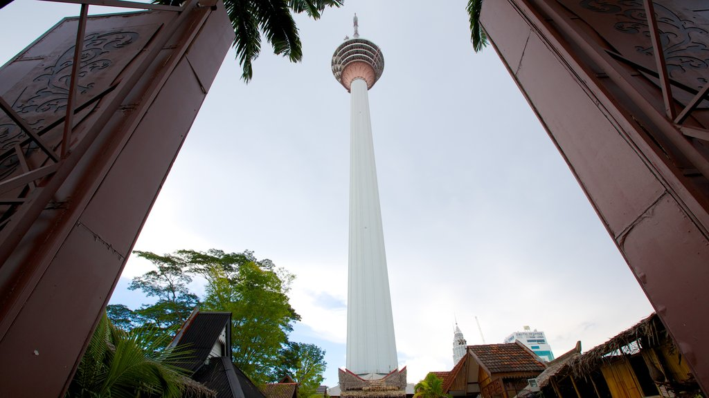 Kuala Lumpur Tower which includes a high rise building, modern architecture and views