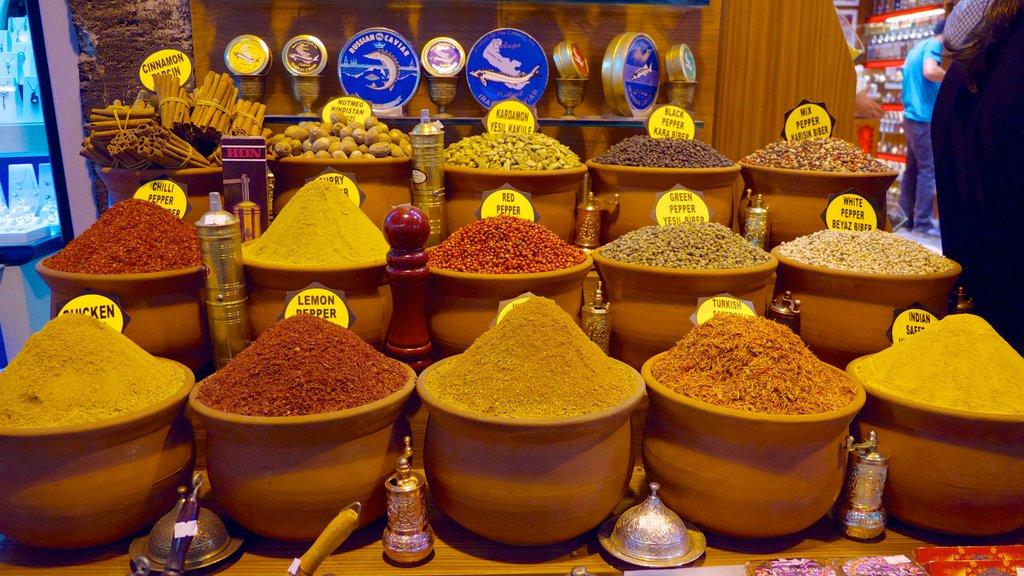 Estambul ofreciendo mercados y comida