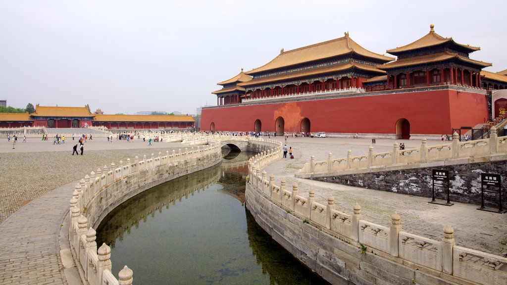 Forbidden City featuring chateau or palace, heritage architecture and a river or creek
