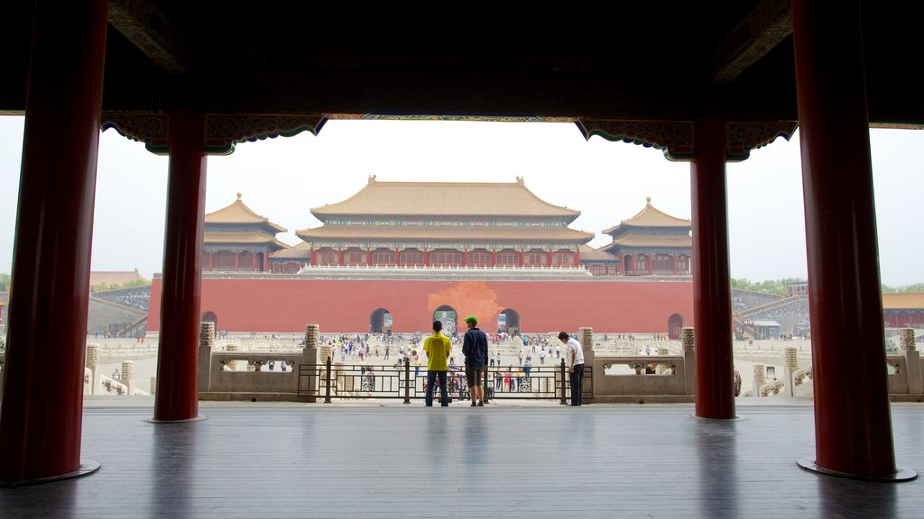 Forbidden City showing heritage architecture, a city and chateau or palace