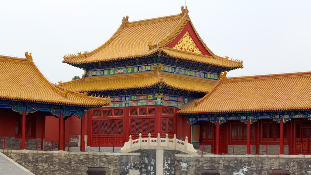 Forbidden City which includes chateau or palace and heritage architecture