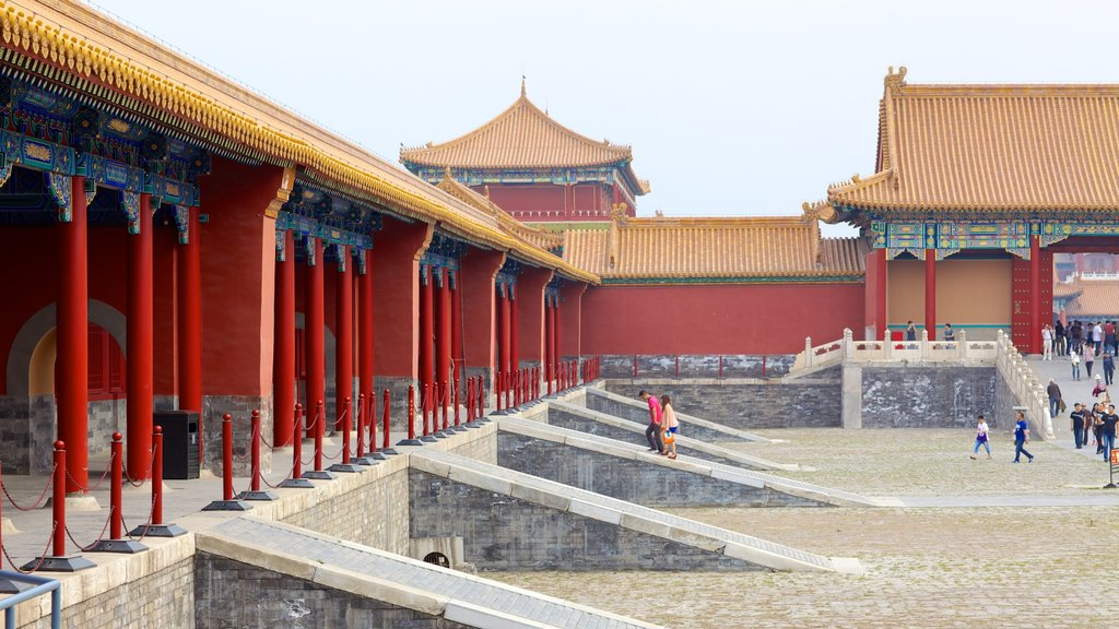 Forbidden City which includes heritage architecture and chateau or palace