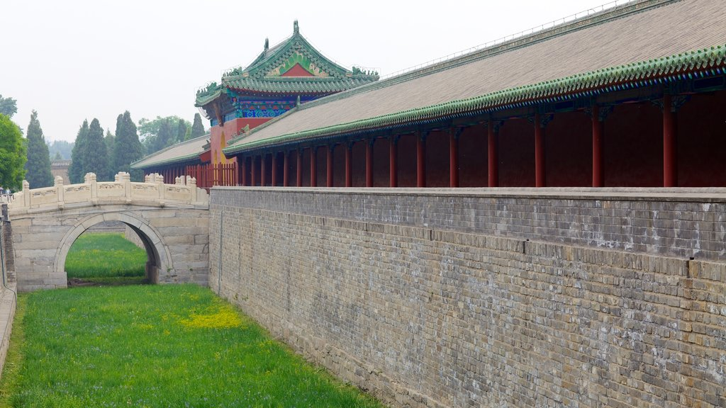 Temple of Heaven which includes religious elements, a bridge and a temple or place of worship