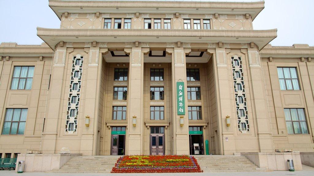 Museo de Historia Natural que incluye patrimonio de arquitectura