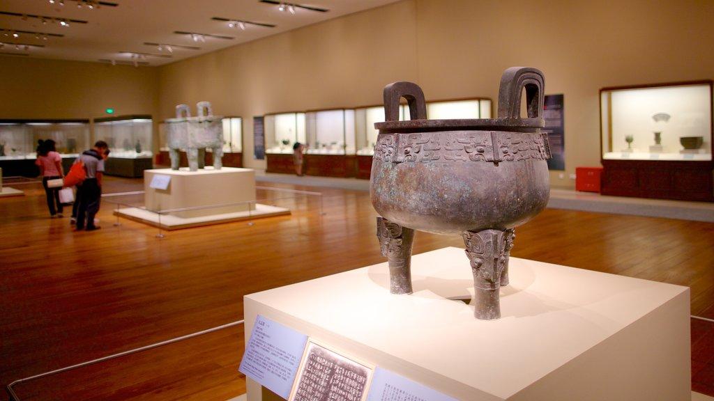 Museo Nacional de China ofreciendo vistas interiores
