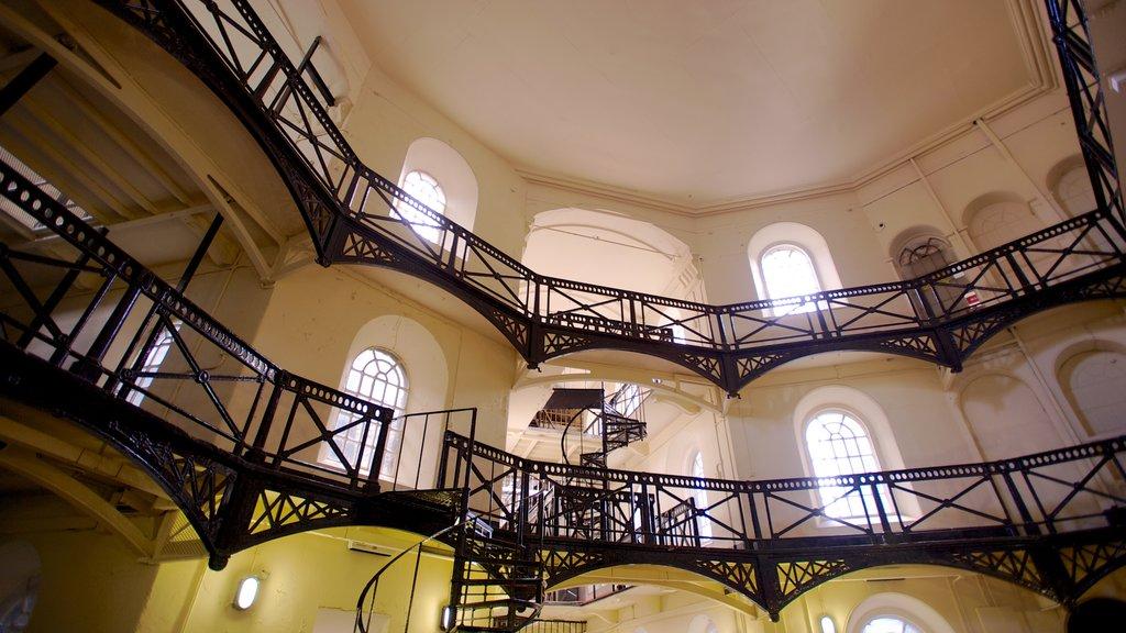 Crumlin Road Jail featuring interior views