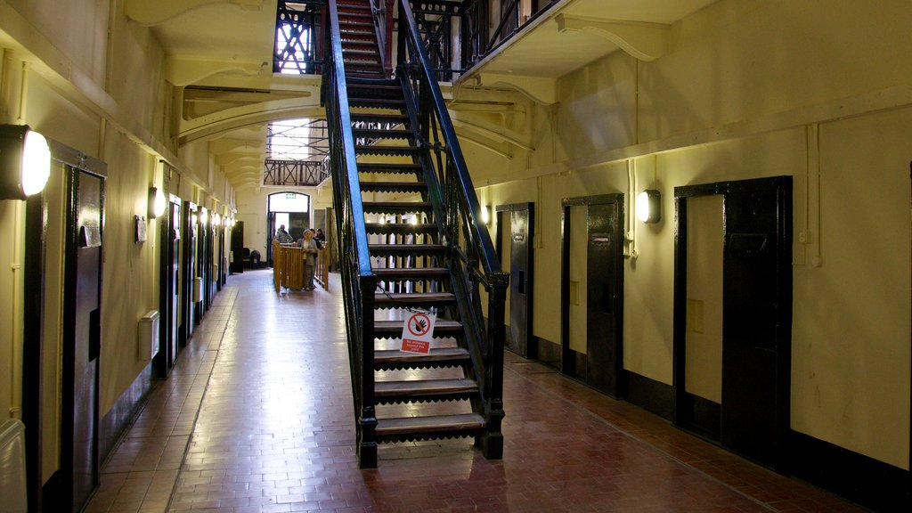 Crumlin Road Jail which includes interior views