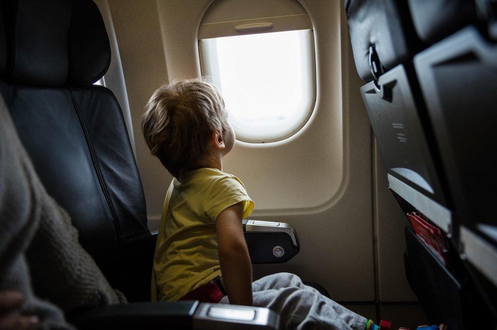voyager avec son enfant