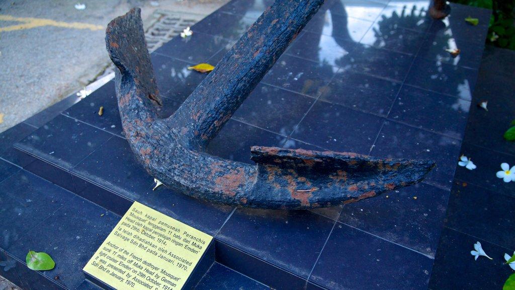 Museo Estatal de Penang que incluye señalización