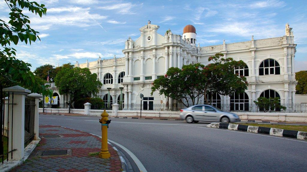 Museo Estatal de Penang mostrando patrimonio de arquitectura y escenas urbanas