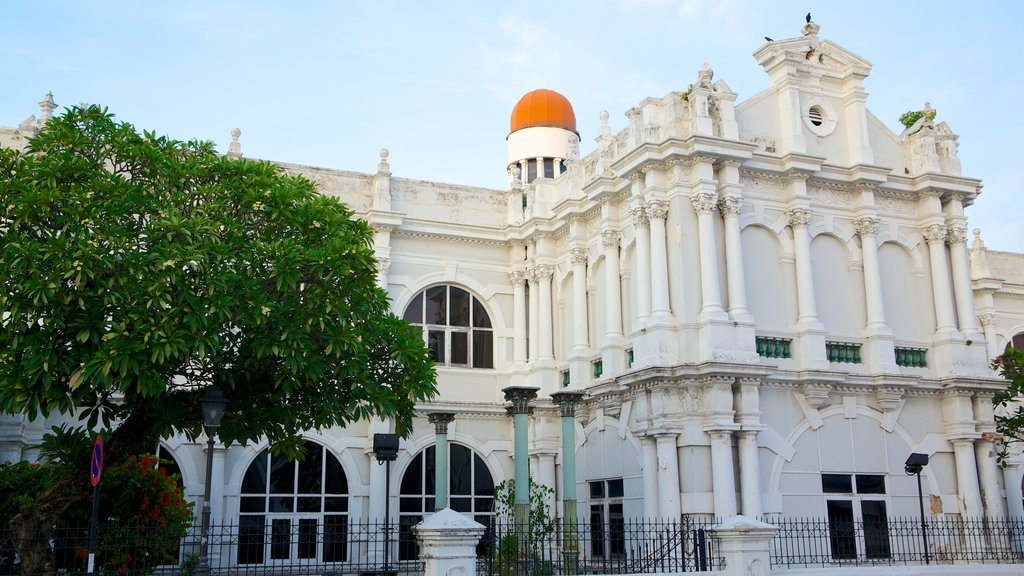 Penang State Museum showing heritage architecture