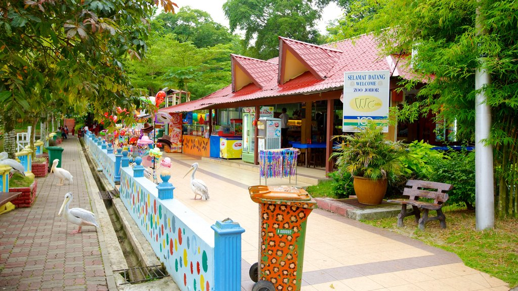Johor Bahru which includes zoo animals and bird life