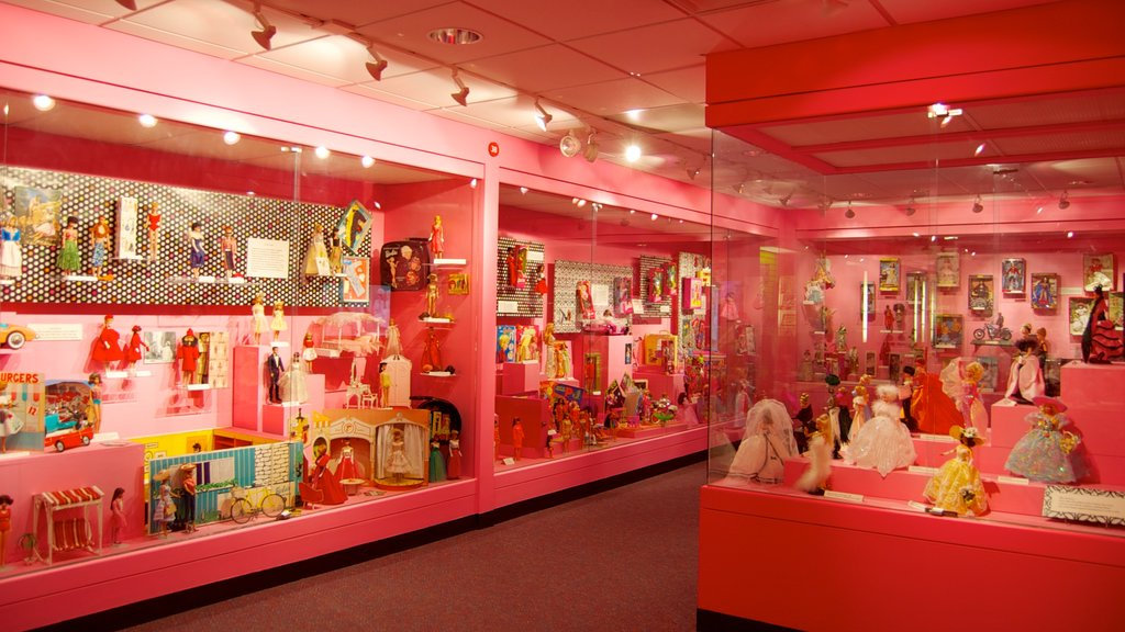 Toy and Miniature Museum which includes interior views