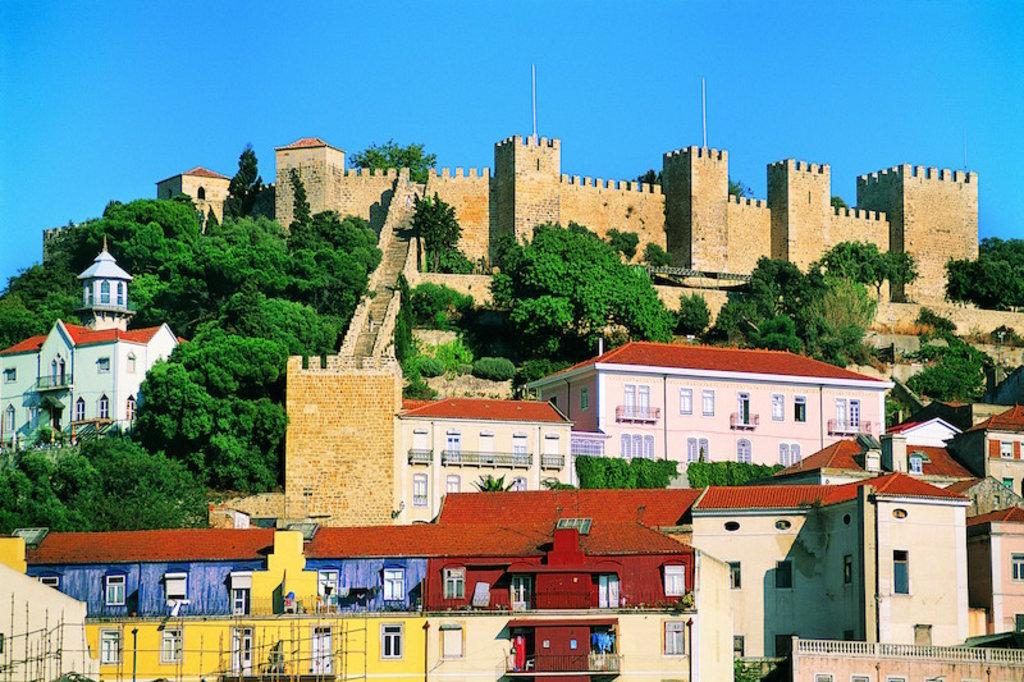 Castelo de Sao Jorge lisbonne