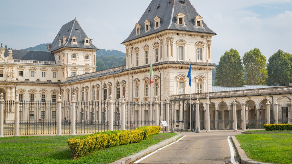 Valentino Castle featuring heritage elements