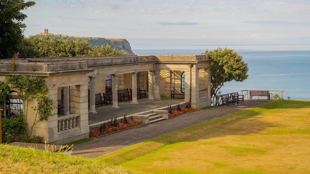 Scarborough which includes heritage elements, a garden and general coastal views