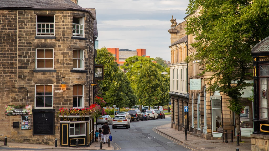 Harrogate showing street scenes