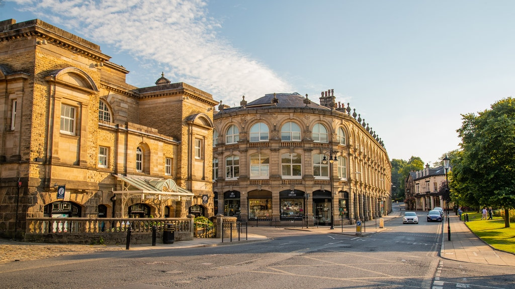 Harrogate featuring heritage architecture