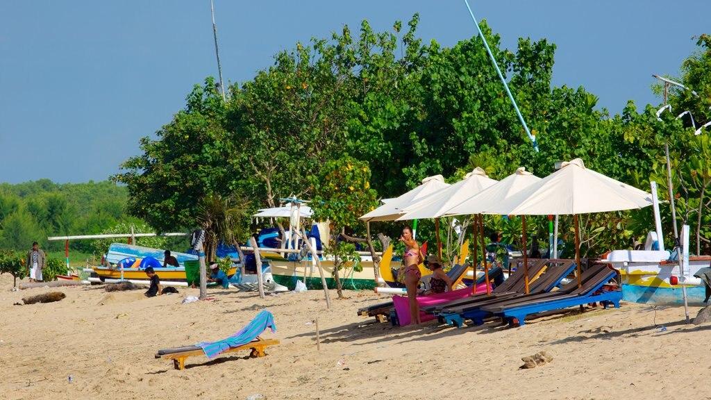 Sanur Beach which includes a beach