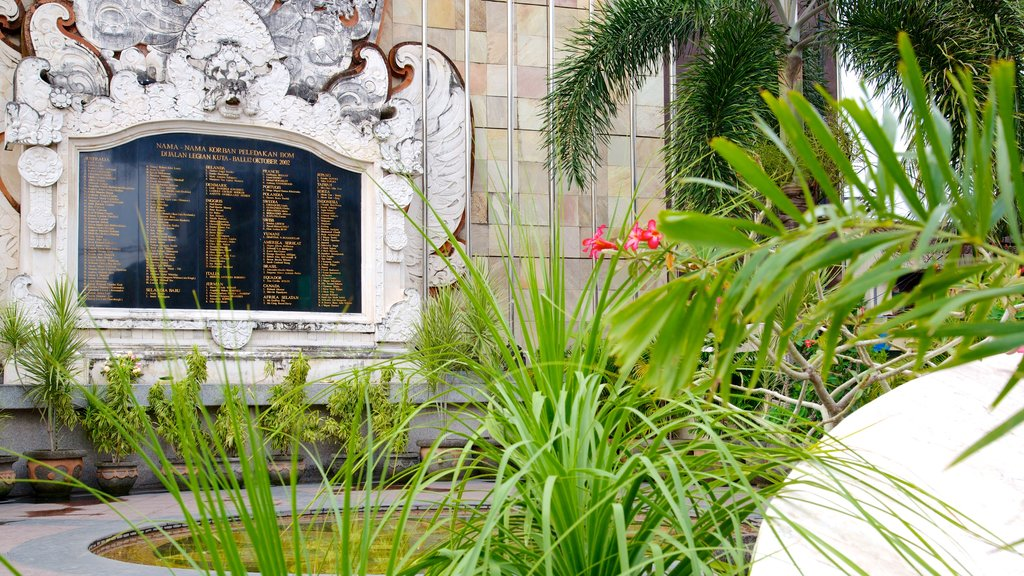 Bali Blast Monument showing a monument and a memorial