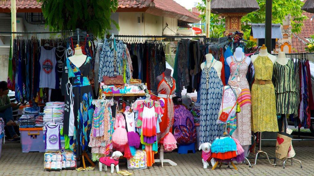 Seminyak Square featuring street scenes, shopping and markets