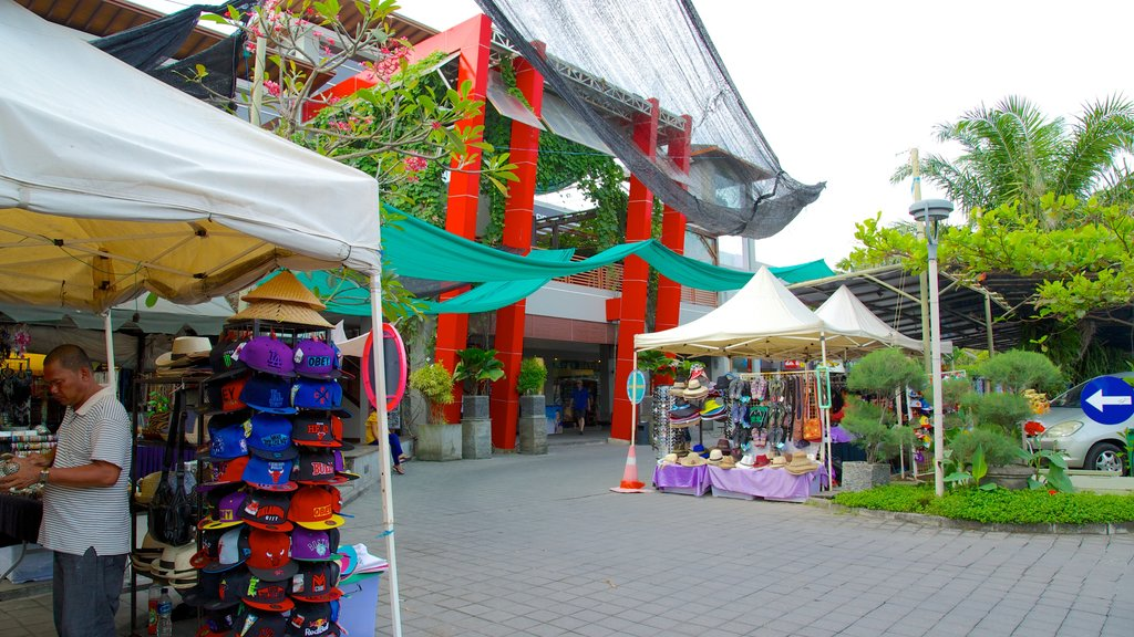 Seminyak Square featuring a square or plaza, shopping and markets