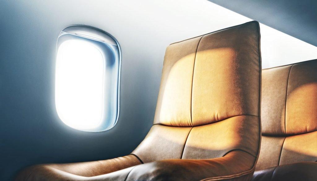 siège avion confortable