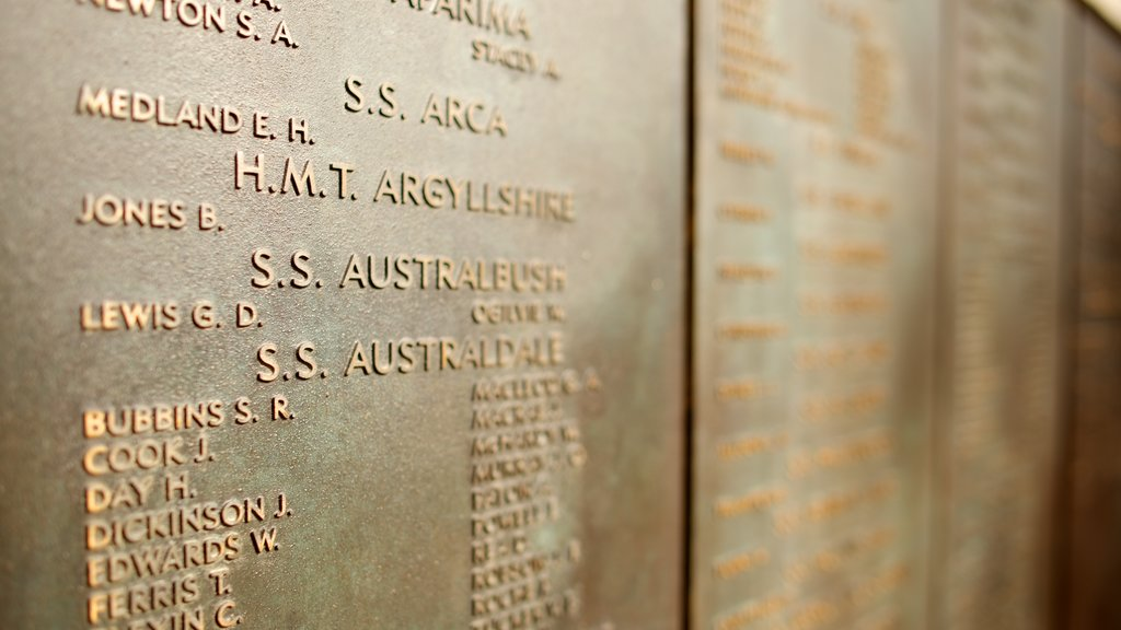 Australian War Memorial which includes a memorial