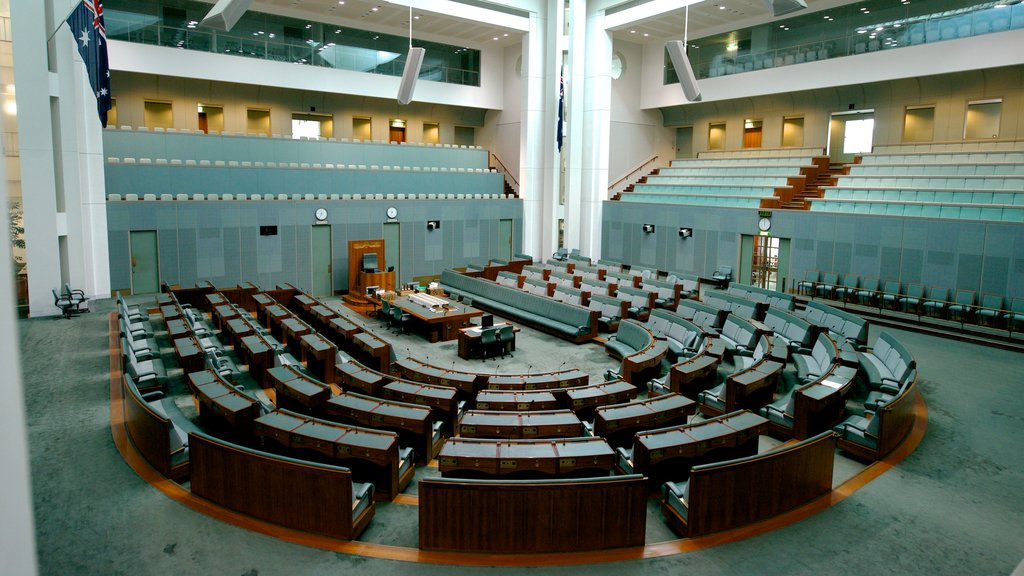 Parliament House featuring interior views, an administrative buidling and modern architecture